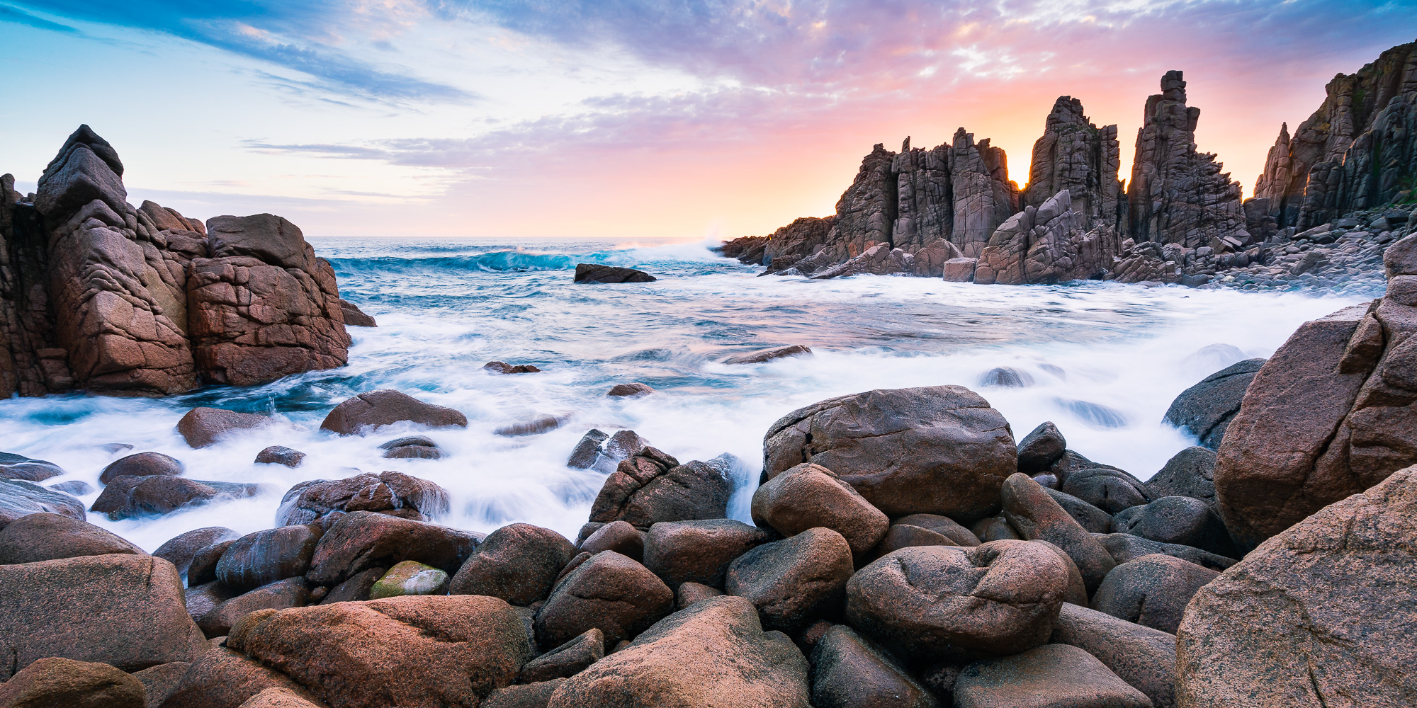 The Pinnacles sunset photograph in Philip Island