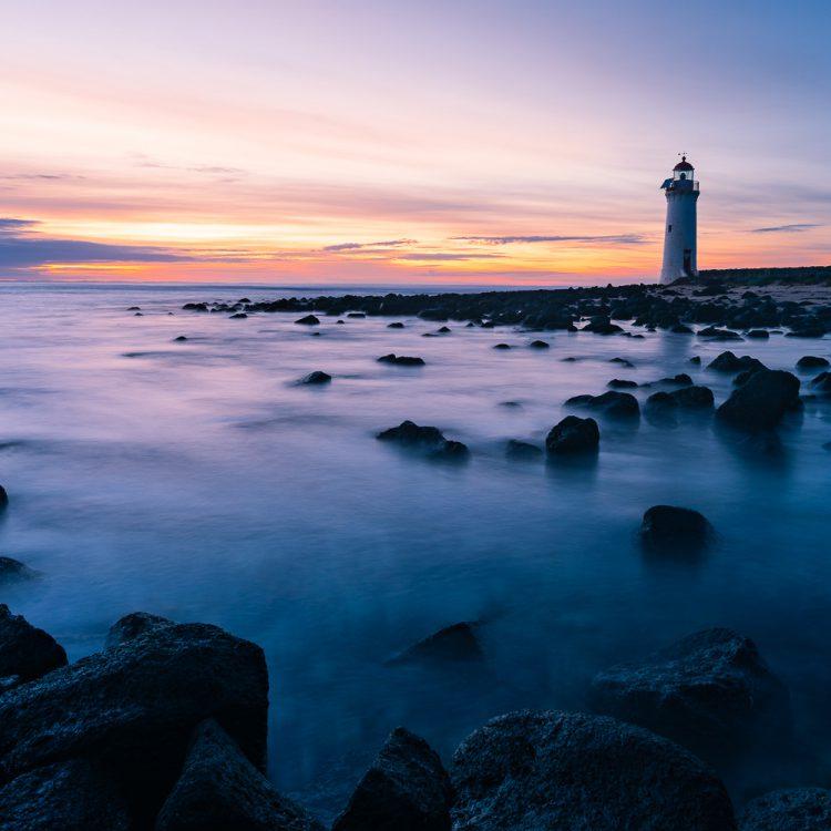 Sunrise photograph at Port Fairy in Victoria